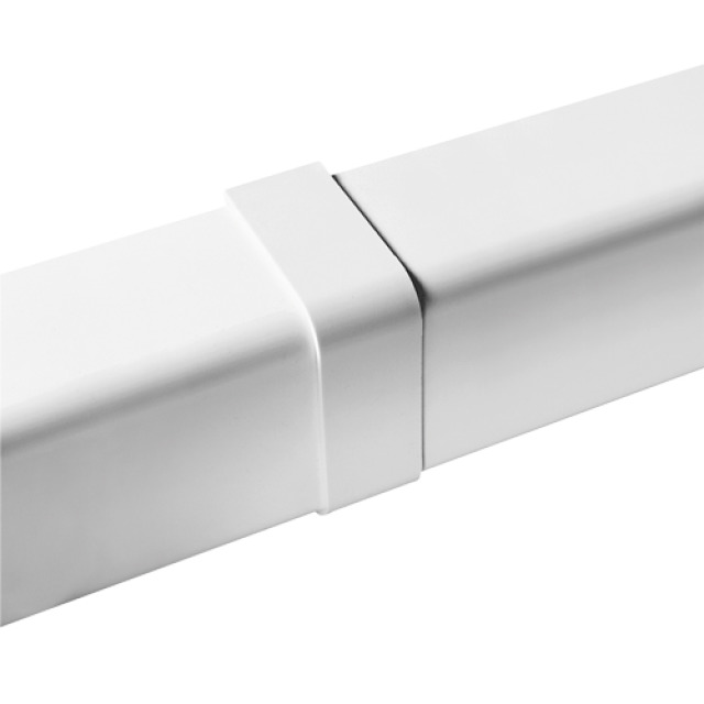 Couvre joint blanc Ø80 x 60mm