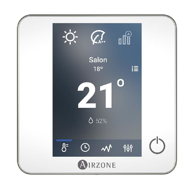 Pack Thermostats : 1 BLUEFACE + 3 THINK filaire + câbles